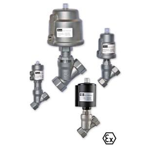Parker angle seat valves